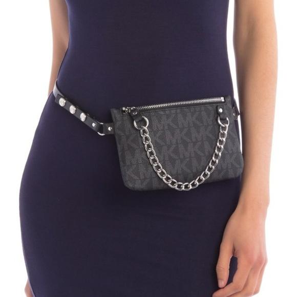 New Michael Kors Pull Chain Belt Bag 7464cf45daf38